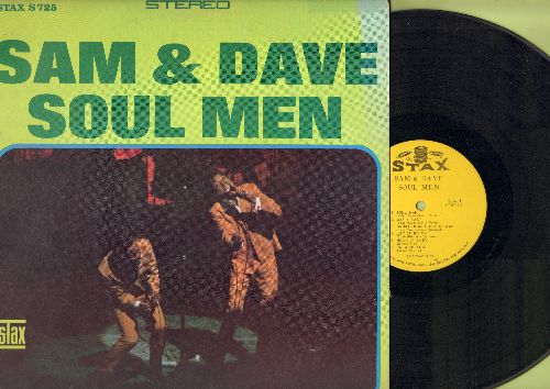 Sam & Dave - Soul Men: Soul Man, Let It Be Me, Don't Knock It, Just Keep Holding On (Vinyl STEREO LP record) - VG7/VG7 - LP Records