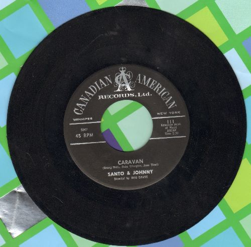 Santo & Johnny - Caravan/Summertime - NM9/ - 45 rpm Records