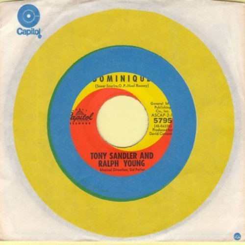 Sandler, Tony & Ralph Young - Dominique/Chicago (with Capitol company sleeve) - M10/ - 45 rpm Records
