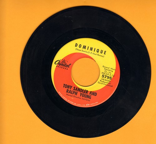 Sandler, Tony & Ralph Young - Dominique/Chicago - VG7/ - 45 rpm Records