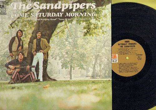 Sandpipers - Come Saturday Morning: The Long And Winding Road, Santo Domingo, A Song Of Joy, The Wonder Of You (vinyl STEREO LP record) - NM9/NM9 - LP Records