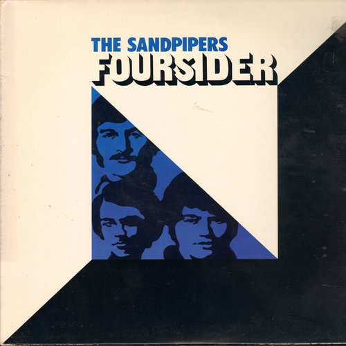 Sandpipers - Foursider: Guantanamera, Louie Louie, La Mer, Yesterday, Softly As I Leave You (2 vinyl STEREO LP record set) - NM9/EX8 - LP Records