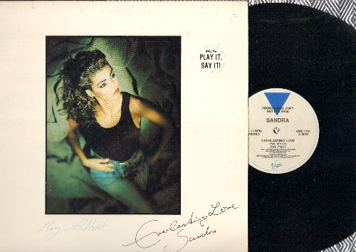 Sandra - Everlasting Love (3 different extended Dance Club Mixes) + Stop For A Minute (12 inch vinyl Maxi Single with picture cover, DJ advance pressing) - NM9/EX8 - Maxi Singles