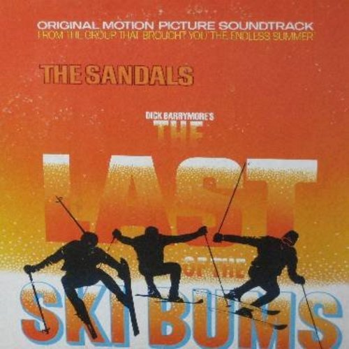 Sandals - The Last Of The Ski Bums - Original Motion Picture Soundtrack (Vinyl STEREO LP record) - VG7/EX8 - LP Records