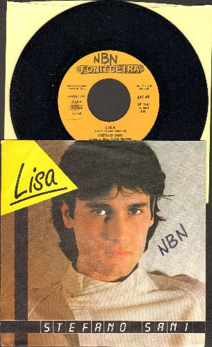 Sani, Stefano - Lisa/Un'altra Atmosfera (Italian Pressing with picture sleeve, sung in Italian) - NM9/EX8 - 45 rpm Records