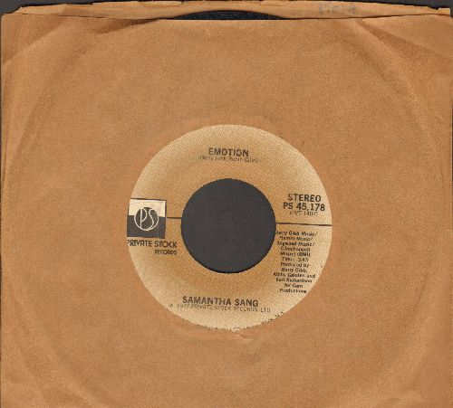 Sang, Samantha - Emotion/When Love Is Gone  - EX8/ - 45 rpm Records