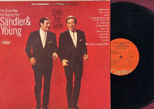 Sandler, Tony & Ralph Young - Side By Side: Chicago, The Impossible Dream, Dominique, Our Day Will Come, Love Me With All Your Heart (Vinyl STEREO LP record, 1970s Pressing) - NM9/NM9 - LP Records