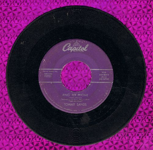 Sands, Tommy - Ring-A-Ding-Ding/My Love Song  - VG7/ - 45 rpm Records