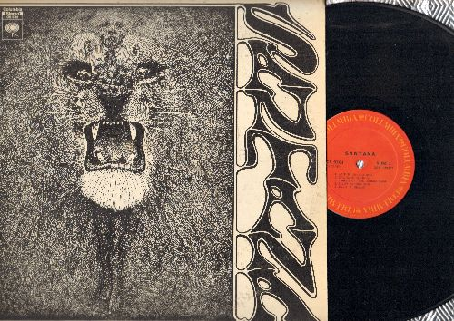 Santana - Santana: Waiting, Evil Ways, Jingo, Persuasion, Soul Sacrifice (vinyl STEREO LP record) - EX8/EX8 - LP Records