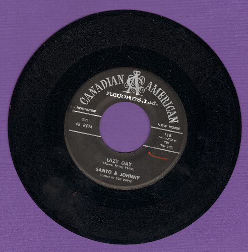 Santo & Johnny - Lazy Day/The Breeze And I - NM9/ - 45 rpm Records