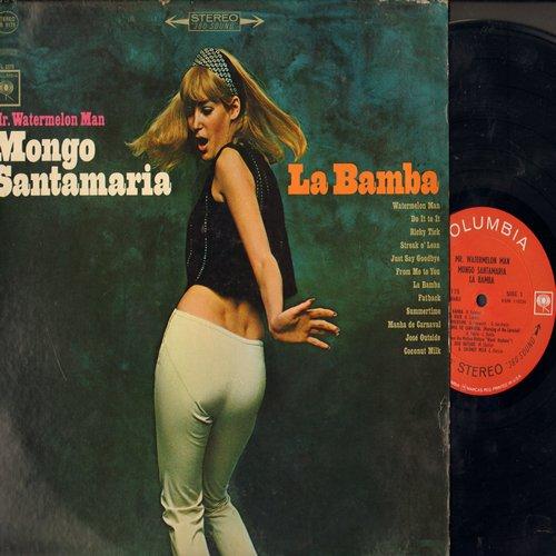 Mongo Santamaria - Mr. Watermelon Man: La Bamba, Summertime, Fatback, Streak O'Lean, Coconut Milk (Vinyl STEREO LP record) - NM9/VG7 - LP Records