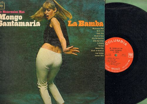 Mongo Santamaria - Mr. Watermelon Man: La Bamba, Summertime, Fatback, Streak O'Lean, Coconut Milk (Vinyl MONO LP record) - EX8/EX8 - LP Records