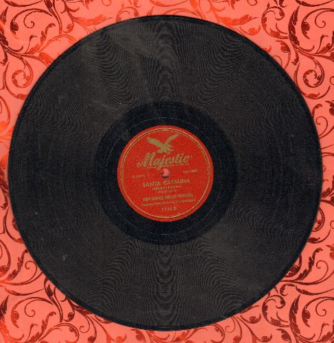 Howard, Eddy - Santa Catalina (Island Of Romance)/Don't Tell Me That Story (10 inch 78 rpm record) - VG7/ - 78 rpm