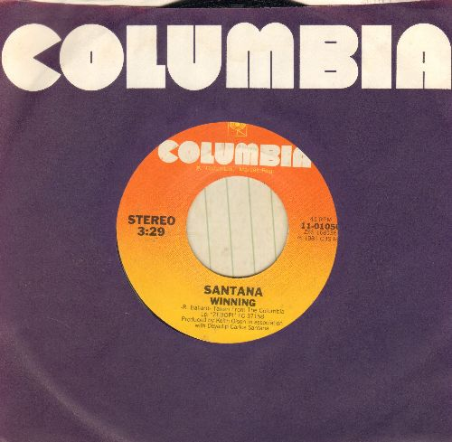 Santana - Winning/Brightest Star - NM9/ - 45 rpm Records
