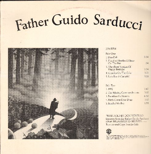 Father Guido Sarducci - Father Guido Sarducci: Doo-Dah, Hundred Bottles Of Beer On The Bus, The Missing Commandments, Birth Control For Dogs, Beatles' Medley (Vinyl STEREO LP record, RARE PROMO Pressing of Cult-Comedy Act) - M10/EX8 - LP Records