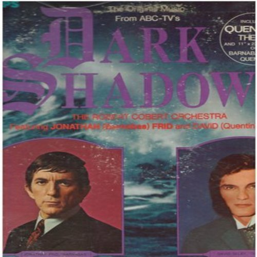 Cobert, Robert Orchestra - Dark Shadows - The Original Music from the TV Series, includes Quentin's Theme (Vinyl STEREO LP record) - NM9/VG7 - LP Records