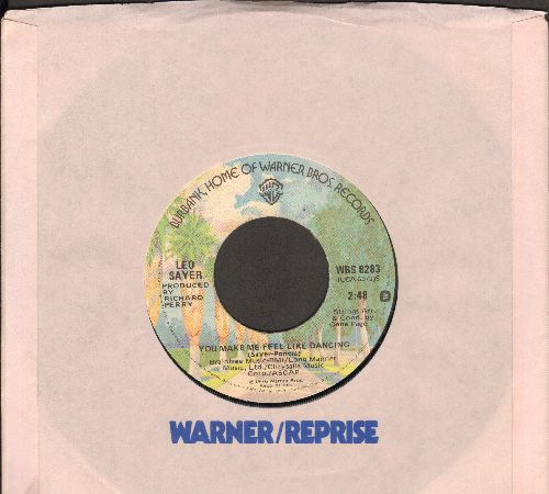 Sayer, Leo - You Make Me Feel Like Dancing/Megdalena (with Warner Brothers company sleeve) - EX8/ - 45 rpm Records