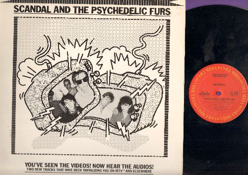 Scandal & The Psychedelic Furs - Love Got A Line On You/Run And Run (Vinyl MAXI Single with picture cover, RARE DJ advance pressing) - M10/EX8 - LP Records