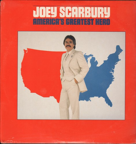 Scarbury, Joey - Americ'as Greatest Hero: Theme From -The Greatest American Hero- (Believe It Or Not), Some Of My Old Friends, Stolen Night (Vinyl STEREO LP record, SEALED, never opened!) - SEALED/SEALED - LP Records