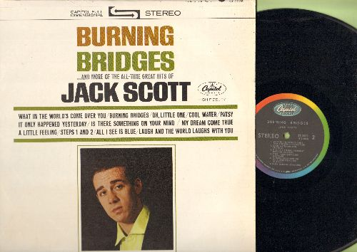 Scott, Jack - Burning Bridges: What In The World's Come Over You, Oh, Little One, My Dream Come True, Cool Water, Patsy (Vinyl STEREO LP record) - NM9/NM9 - LP Records