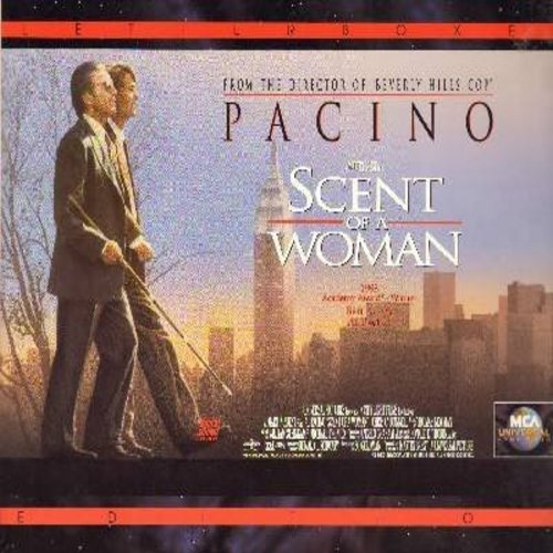 Scent Of A Woman - Scent Of A Woman - The 1993 Hollywood Classic starring Oscar Winner Al Pacino - This is a set of 2 LASERDISCS, NOT ANY OTHER KIND OF MEDIA! - NM9/NM9 - LaserDiscs