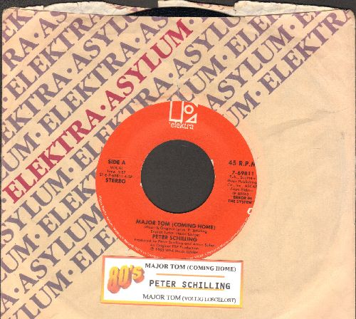 Schilling, Peter - Major Tom (Vollig losgelost)/Major Tom (Coming Home) (with juke box label and company sleeve) - NM9/ - 45 rpm Records