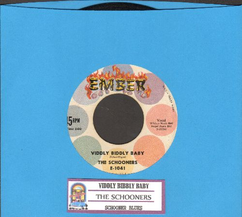 Schooners - Viddley Biddly Baby/Schooner Blues (with juke box label) - NM9/ - 45 rpm Records
