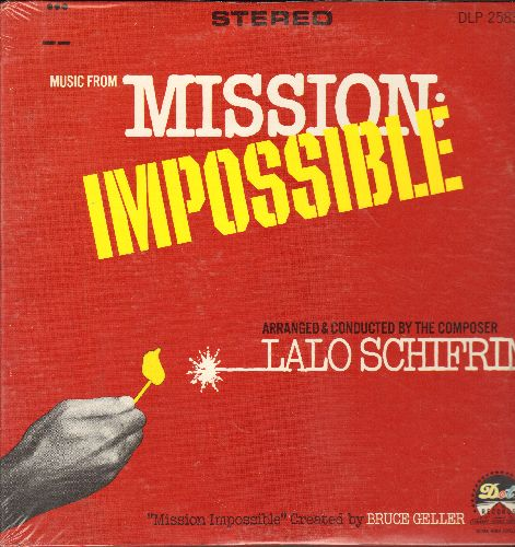 Schifrin, Lalo - Mission: Impossible: Cinnamon, Jim On The Move, Operation Charm, The Sniper, Wide Willy, Barney Does It All, Mission: Accomplished (Vinyl STEREO LP record, NICE condition, shrink wrap) - NM9/NM9 - LP Records