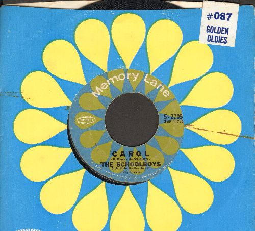 Schoolboys - Carol/Please Say You Love Me (double-hit re-issue with company sleeve) - VG7/ - 45 rpm Records