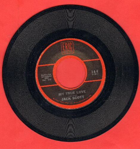 Scott, Jack - My True Love/With Your Love (double-hit re-issue) - NM9/ - 45 rpm Records