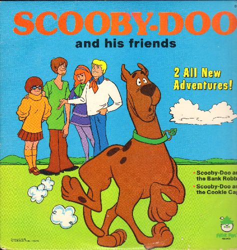 Scooby-Doo and his friends - Scooby-Doo and his friends - Scooby Doo and the Bank Robber/Scooby-Doo and the Cookie Caper (vinyl LP record) - NM9/EX8 - LP Records