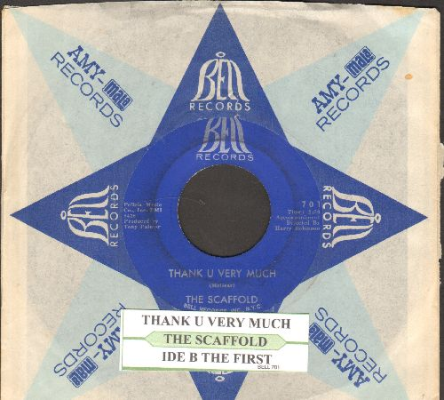 Scaffold - Thank You Very Much (featured at the 1970 Oscars Ceremony)/Ide B The First (with juke box label Bell company sleeve)  - EX8/ - 45 rpm Records