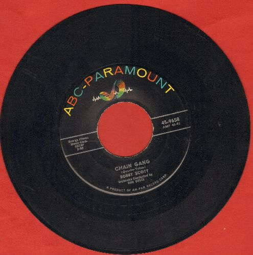 Scott, Bobby - Chain Gang/Shadrach  - VG7/ - 45 rpm Records
