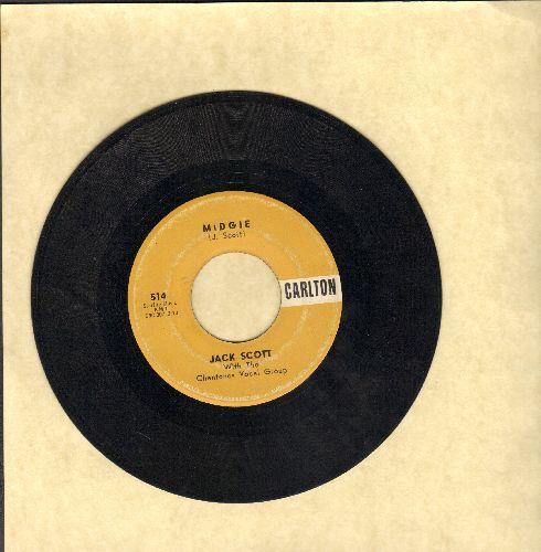 Scott, Jack - Midgie/The Way I Walk - VG7/ - 45 rpm Records
