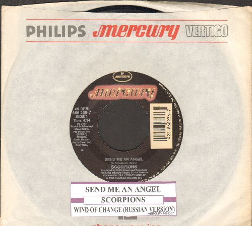 Scorpions - Send Me An Angel/Wind Of Change (Russian Version) (with juke box label and company sleeve) - EX8/ - 45 rpm Records