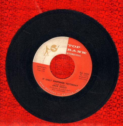 Scott, Jack - It Only Happened Yesterday/Cool Water - EX8/ - 45 rpm Records