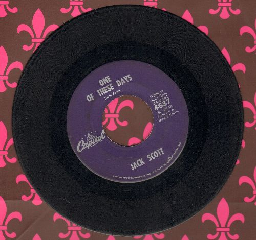 Scott, Jack - One Of These Days/Step One And Two  - VG6/ - 45 rpm Records