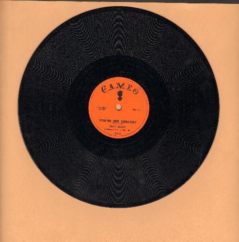 Scott, Billy - You're The Greatest/That's Why I Was Born (RARE 10 inch 78 rpm record) - EX8/ - 78 rpm