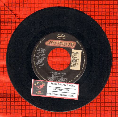 Scorpions - Send Me An Angel/Wind Of Change (Russian version) (with juke box label) - EX8/ - 45 rpm Records