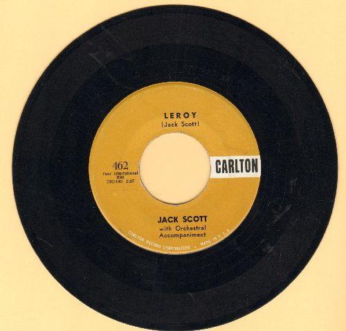 Scott, Jack - My True Love/Leroy  - EX8/ - 45 rpm Records