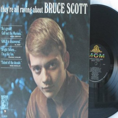 Scott, Bruce - They're All Raving About Bruce Scott: Venus, Yesterday, As Tears Go By, A Young Man Says Goodbye (Vinyl MONO LP record) - M10/EX8 - LP Records