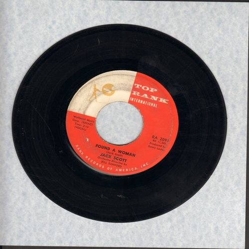 Scott, Jack - Is There Something On Your Mind/Found A Woman - VG7/ - 45 rpm Records