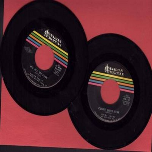 Scott, Linda - 2 for 1 Special: It's All Because/Count Every Star (2 vintage first issue 45rpm records for the price of 1!) - EX8/ - 45 rpm Records