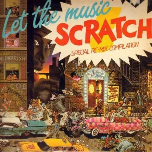 Shannon, Xena, Beat Boys, Main Line, others - Let The Music Scratch - Special Re-Mix Compilation: Let The Music Play, Be Bop Rock, On The Upside, Somebody's Watching Me (Vinyl STEREO LP record) - NM9/NM9 - LP Records