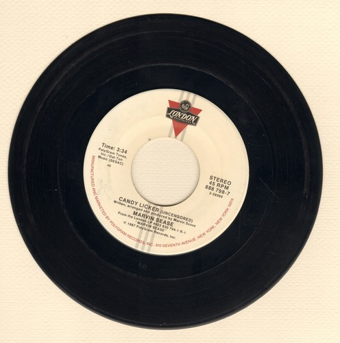 Sease, Marvin - Candy Licker (Uncensored)/Candy Licker (Radio Mix) - VG7/ - 45 rpm Records