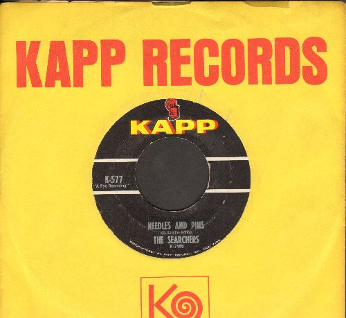 Searchers - Needles And Pins/Saturday Night Out (with vintage Kapp company sleeve) - EX8/ - 45 rpm Records
