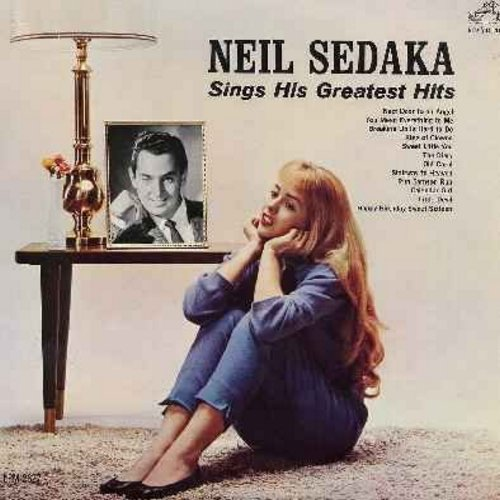 Sedaka, Neil - Sings His Greatest Hits: Calendar Girl, Oh Carol, Little Devil, Breaking Up Is Hard To Do (Vinyl MONO LP record) - VG7/VG7 - LP Records