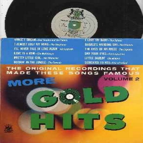 Sedaka, Neil & The Tokens, Harptones, Eternals, Legends, Willows, others - More Gold Hits Vol. 2: While I Dream, Love Is A Vow, Rockin' In The Jungle, The Eyes Of An Angel, Babalu's Wedding Day (Vinyl MONO LP record, RARE 1961 first issue, NICE condition!