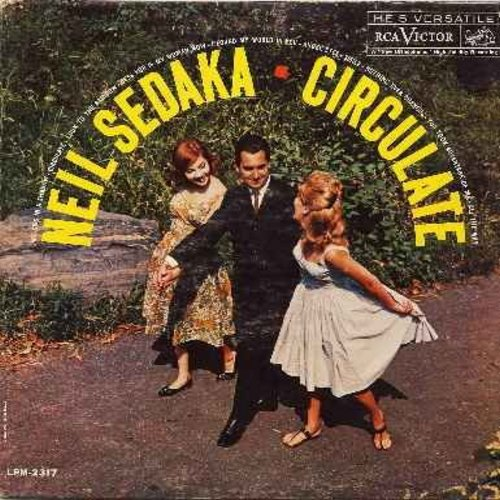 Sedaka, Neil - Circulate: Look To The Rainbow, Angel Eyes, Smile, Bess You Is My Woman Now, All The Way (Vinyl MONO LP record) - EX8/VG7 - LP Records
