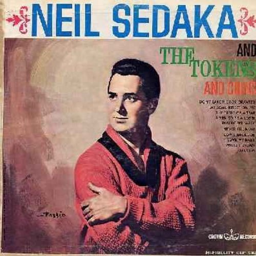 Sedaka, Neil & The Tokens & Coins - Neil Sedaka & The Tokens & Coins: The Taste Od A Tear, Run Don't Walk, I Love My Baby, While I Dream (Vinyl MONO LP record) - EX8/VG6 - LP Records